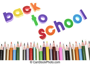 Back to School Concept Shot