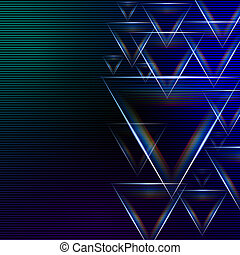abstract blue green background with shining multicolored...