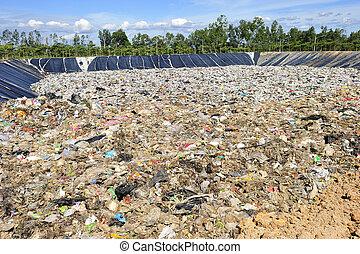 泰國, 國內, 垃圾, 堆