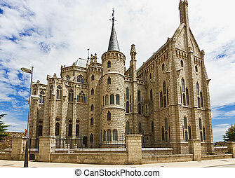 Episcopal palace - Astorga episcopal palace