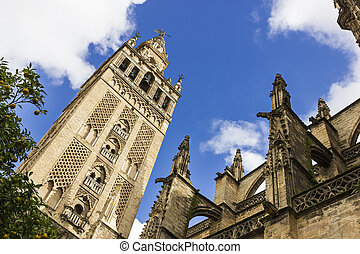 "La Giralda - ""La Giralda"" Bell Tower of Seville..."