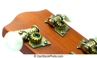 Ukulele headstock gear tune