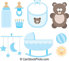 Baby icon set / Child stuff
