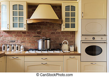 Kitchen design - Old style kitchen
