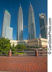 Petronas Twin Towers in Malaysia