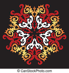 Decorative snowflake