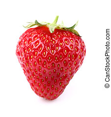 Strawberry in closeup