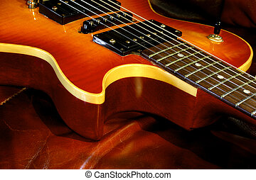 Single Cutaway - A single cutaway, curved maple top heavy...