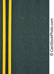 Yellow Lines Road - Marking Double Yellow Lines Road