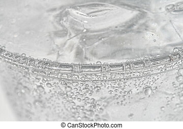 Cold water - seltzer water