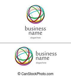 logo ball of yarn