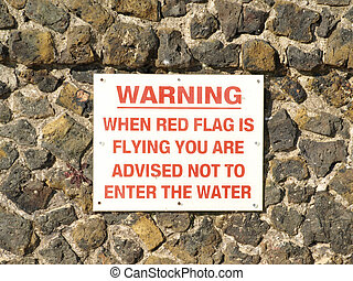 Warning sign