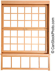 Wood Double Hung Windows Double-hung window parts - The...