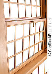Wood Double Hung Windows, traditional American Window - Wood...