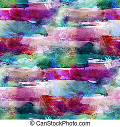 seamless red, green wallpaper watercolor abstract...