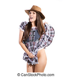 country and western woman