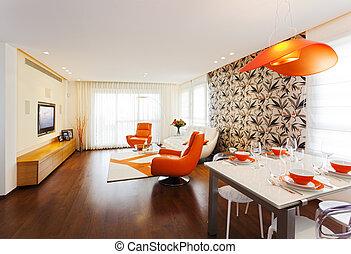 Modern Home - Luxury Modern Living Room