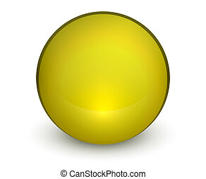 Color matte light sphere button