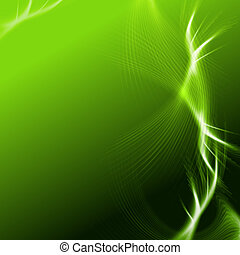 green background with lights and lines - green background...