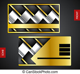 Business card design creative - Personal and clean business...