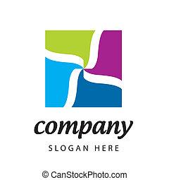 vector logo textile company