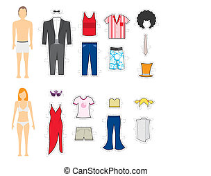 Clothing Makeover / Change looks