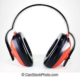 hearing protection earmuffs - red earmuffs to protect...