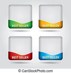 Best Seller label -