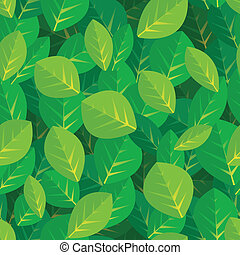 Leaves background / seamless pattern
