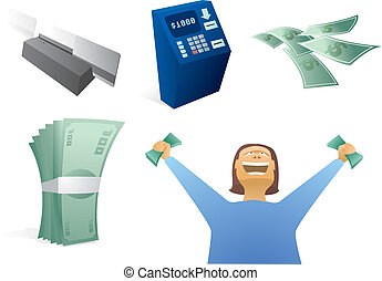 Money / Finance Icon Set
