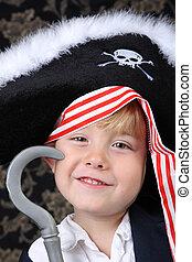 pirata, Menino