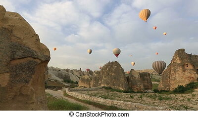 hot air balloon - air balloons tour in Cappadocia, Turkey