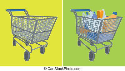 empty/full, compras, carrito