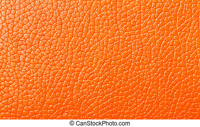 Orange Leather texture, backdrop - Orange Leather texture...