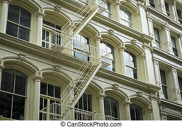 Historic buildings in New York City's Soho District