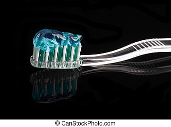 cepillo de dientes, pasta