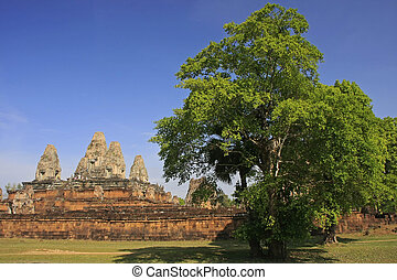 Pre Rup temple, Angkor area, Siem Reap, Cambodia