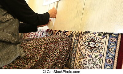 Hand-made carpet