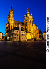 St Vitus Cathedral, Prague, Czech Republic - St. Vitus...