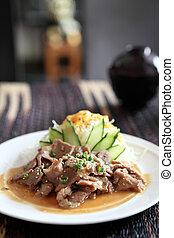 Japanese cuisine, Ginger pork