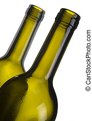 Quenched - A close up shot of a wine bottle laying on a...