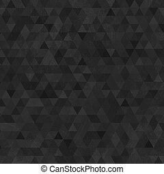 Black grunge triangles abstract background - Abstract grunge...