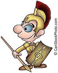 romana, soldado