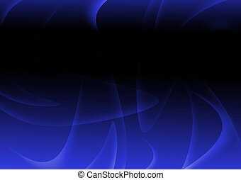 Dark blue abstract wavy and curve background - Dark blue...