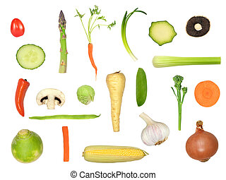 Healthy Vegetable Selection - Vegetable selection in...