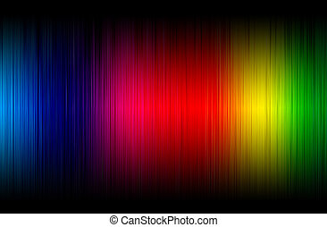 abstract spectrum glowing background