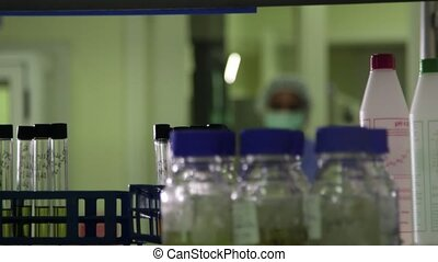 Industrial lab job, staff, woman - Science and research,...