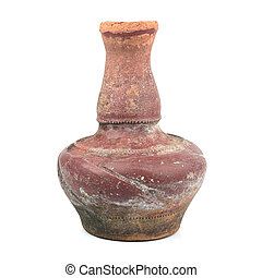 Thai traditional vase clay. - Thai traditional vas clay in...