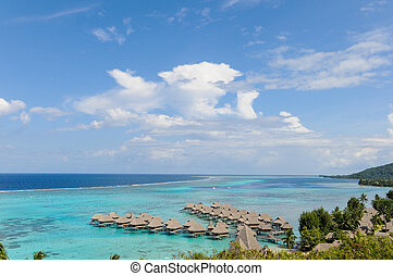 Prefect day in Moorea - Typical day of the south seas with...