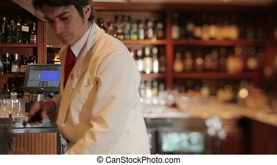 A series of model released clips featuring a male cocktail...